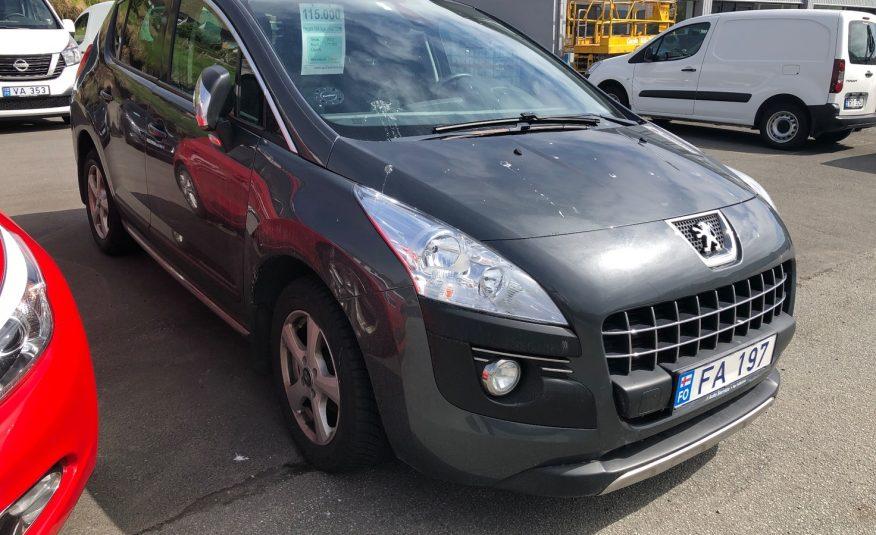 2013 Peugeot 3008 Style 1.6 HDI
