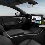 Snið og tøkni uppfrískan av Tesla Model S