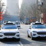 Sjálvkoyrandi hýruvognsbilar í Beijing