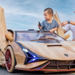 Ein Lamborghini Siam úr timbri