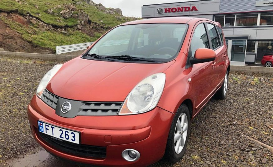 2009 Nissan Note 1.6